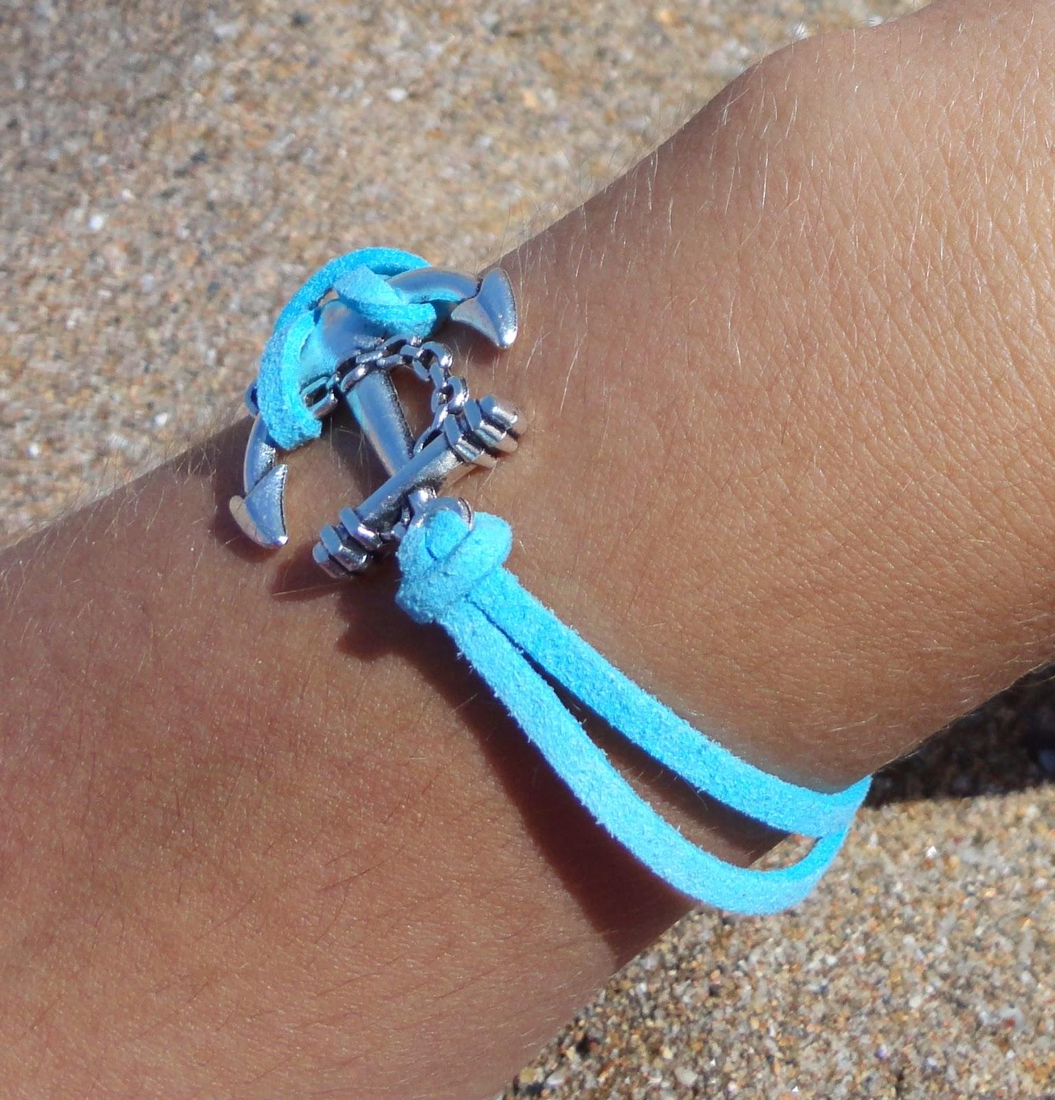 8d54129834fd Enara´s Things  Anchor bracelet