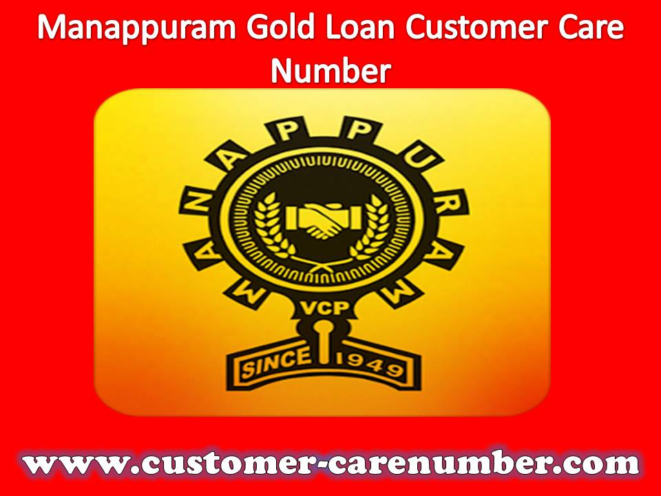 Manappuram Gold Loan Customer Care Number