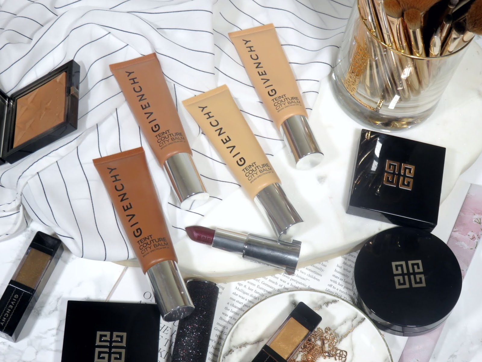Givenchy Teint Couture City Balm Radiant Perfecting Skin Tint SPF 25 Review and Swatches