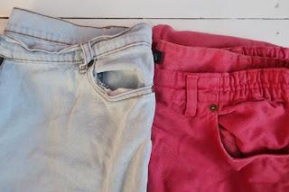 Torby prezentowe z jeansu DIY