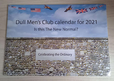 Dull Men's Club Calendar for 2021