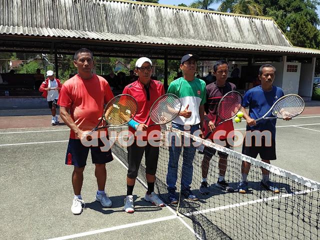 Kusmeidi Bawa Tim Tenis Kota Kediri Lolos Semifinal Kejurprov Jatim