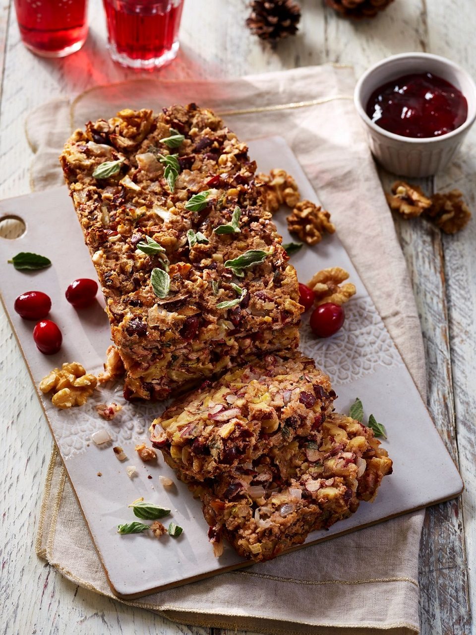 Christmas Nut Loaf With California Walnuts