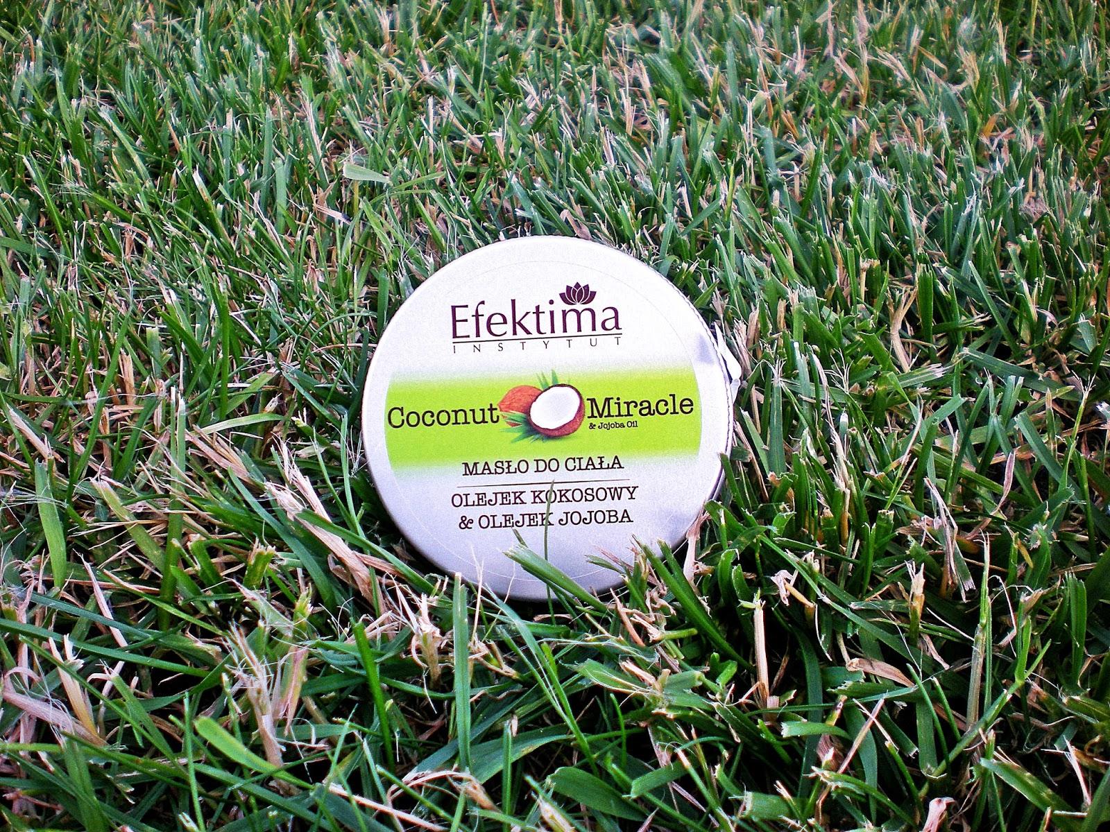 Masło do ciała Coconut Miracle_Efektima