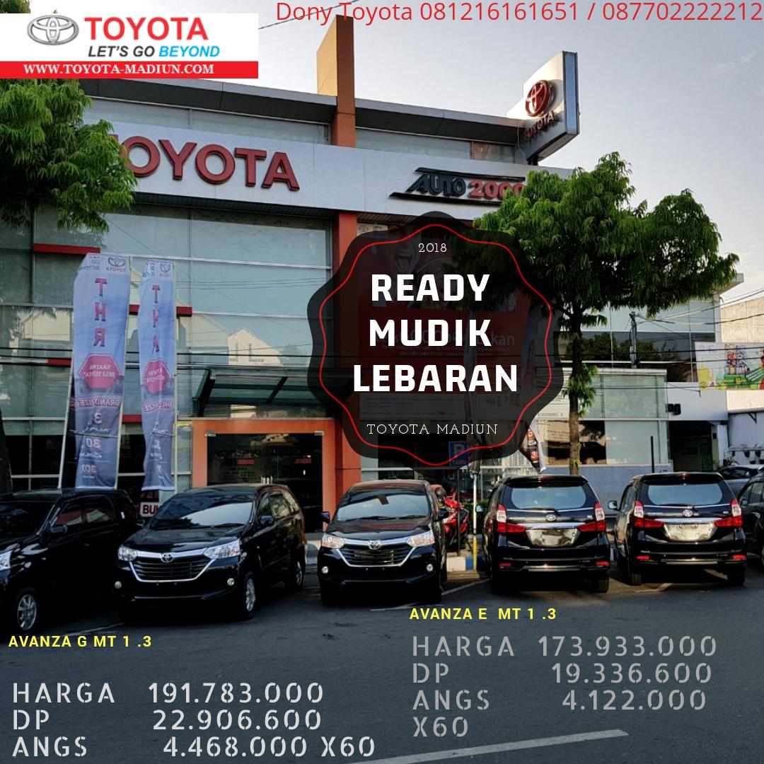 Mei 2018 Toyota Madiun Harga Otr Dan Promo Kredit Terbaru