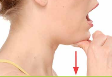 Resistance jaw opening exercise