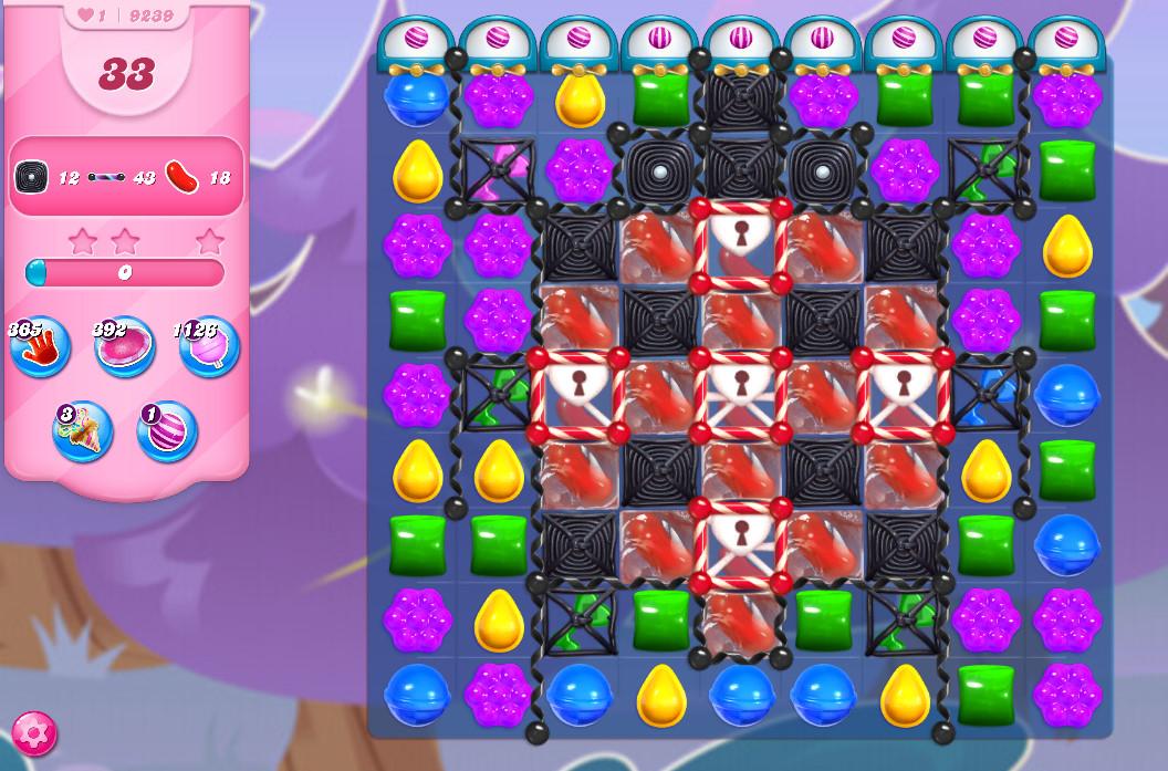 Candy Crush Saga level 9239