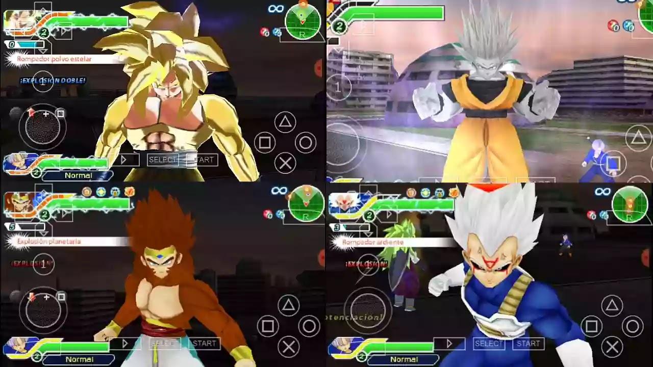 Omni Goku DBZ TTT MOD