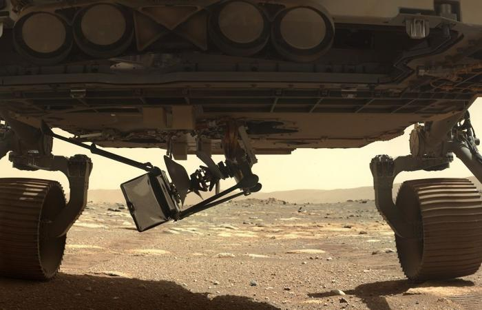 Mars Helicopter Ingenuity Touches Down On The Red Planet