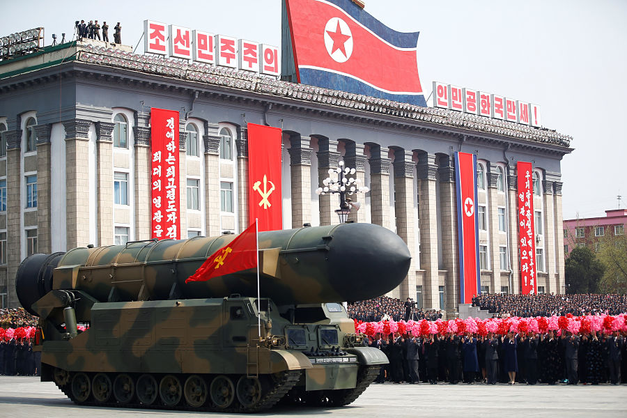 China puts bombers on 'high alert' amid tensions in Korean peninsula