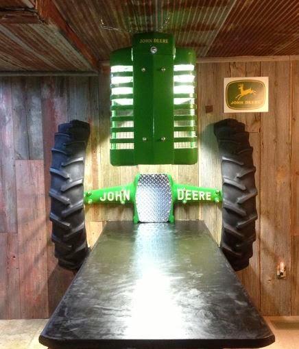 Just A Car Guy: Cole Gerhardt's John Deere Themed Room
