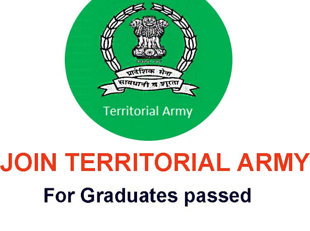 Territorial Army Officer Recruitment 2019-Official notification, Check Eligibility,Apply online