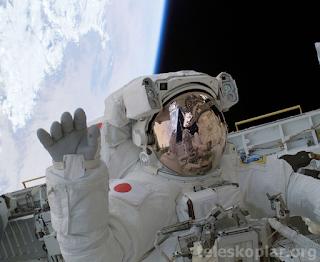 Astronot fotoğrafı