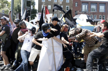 'Imploding': Lawsuits. Fundraising troubles. Trailer-park brawls. Has the alt-right peaked?