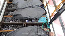 Trei cetățeni străini ascunși într-un autocamion, depistați la P.T.F. Calafat