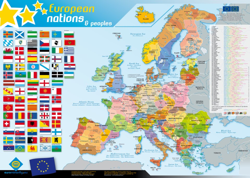 Maps Update 10751401 Europe Map in English Maps of Europe Map – English Map of Europe