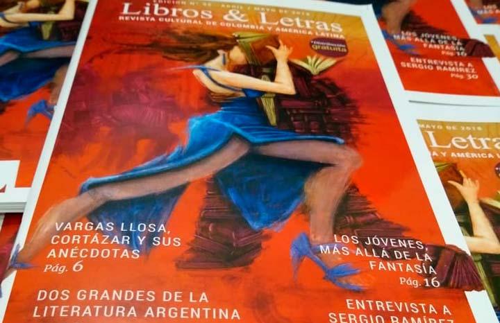 Edición 95 de la revista Libros & Letras en la Feria Internacional del Libro de Bogotá FILBo 2018