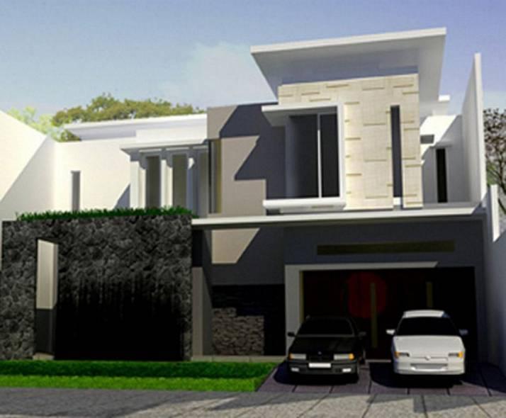 35 contoh desain rumah minimalis type 90 dua lantai model