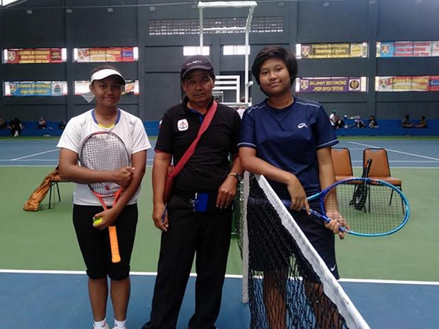 Lumat Petenis Semarang, Shirly Arayana Melaju ke Putaran 2 Kejurnas Tenis New Armada Cup XXIV