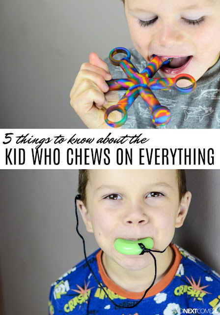 5 things to know about the kid who chews on everything from And Next Comes L