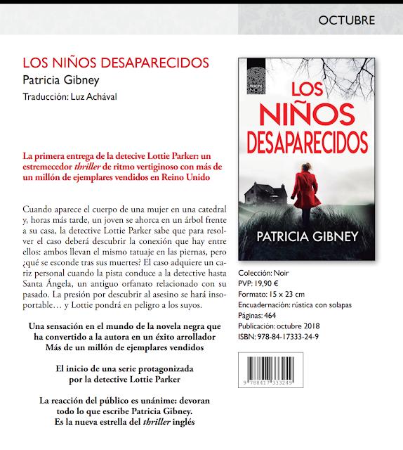 Los niños desaparecidos - Patricia Gibney