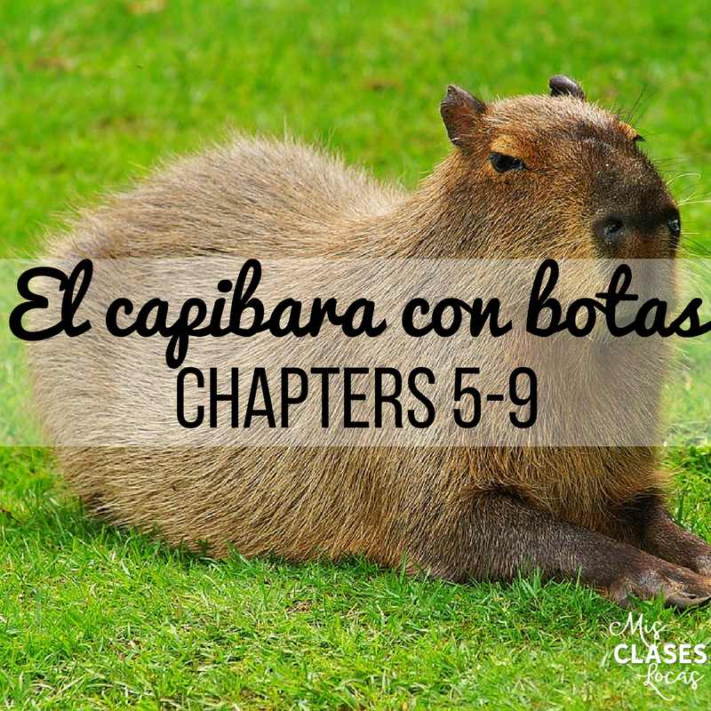Teaching El capibara con botas Chapters 5-9