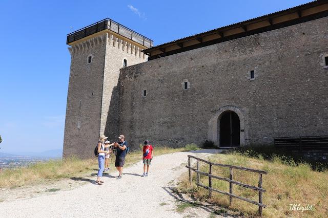 Umbria Rocca Albornoziana Spoleto