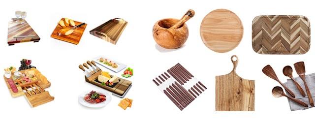 Công ty sản xuất thớt gỗ, dụng cụ ăn uống, dụng cụ nhà bếp bằng gỗ cao cấp.