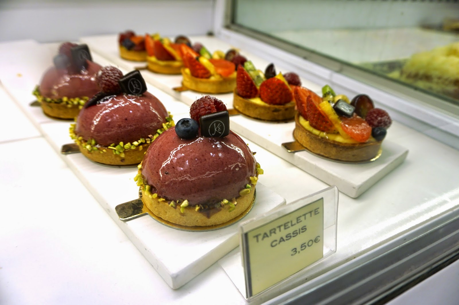 Pastries in Lasbon