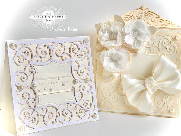 Wedding Day, notecard & envelope