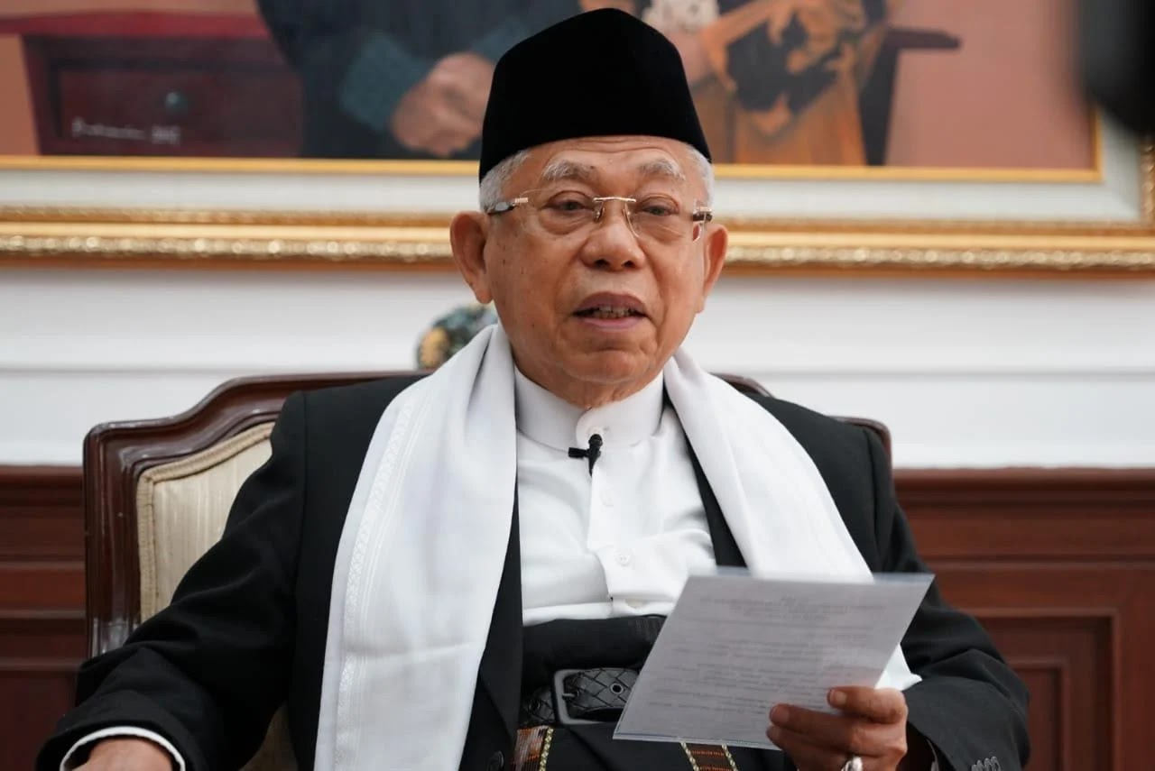 Begini Reaksi Wapres Ma'ruf Amin Usai Dapat Julukan Baru 'The King of Silent'