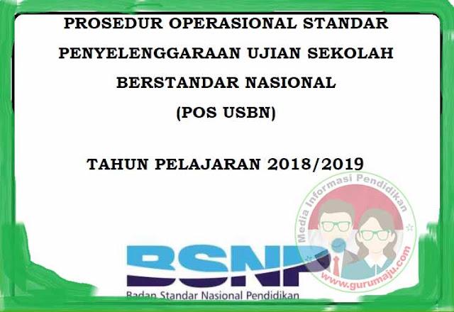 Download POS USBN 2019 Tahun Pelajaran 2018/2019 ( SD SMP SMA SMK )