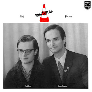 Portada de disco Kraftwerk - Ralf & Florian 1973.