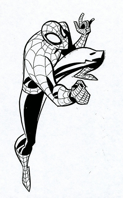 The Amazing Spider Man Coloring Pages
