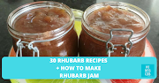 30 Rhubarb Recipes + How to make Rhubarb Jam