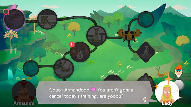 Ring Fit Adventure Coach Armando Flex Dojo World 32 lady women