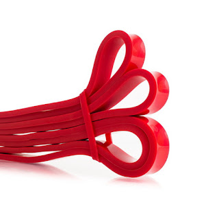 mobility resistance bands red