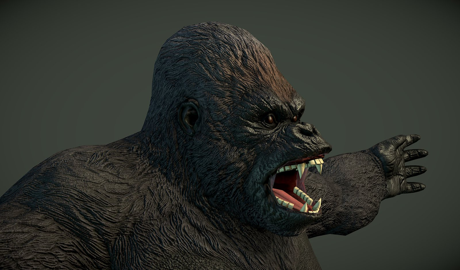 Gorilla — polycount - photo#46