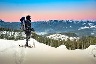 Hiking Mount Pinder, Province Range, Vancouver Island