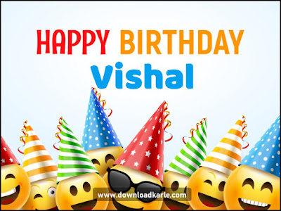 Happy Birthday Vishal Cake