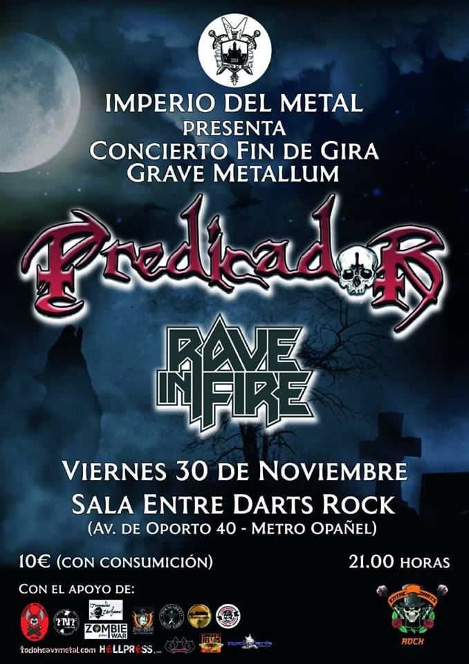 PREDICADOR + RAVE IN FIRE