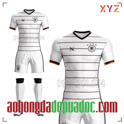 Áo Đức 2020 Sân Nhà Màu Trắng Đẹp Và Độc