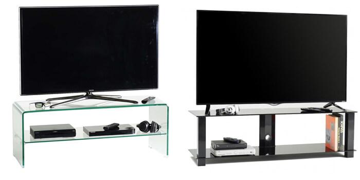 Mobili porta tv in cristallo moderni e di design