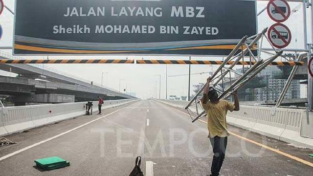 Roy Suryo Sebut Jalan Layang Syeikh MBZ Tol Kadrun, Ceb0ng Dilarang Lewat
