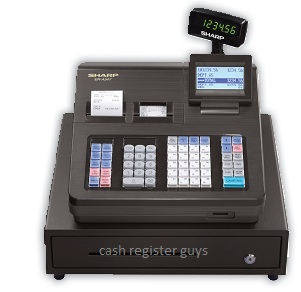 Sharp ER-A347 cash register with quickbooks transfer tool