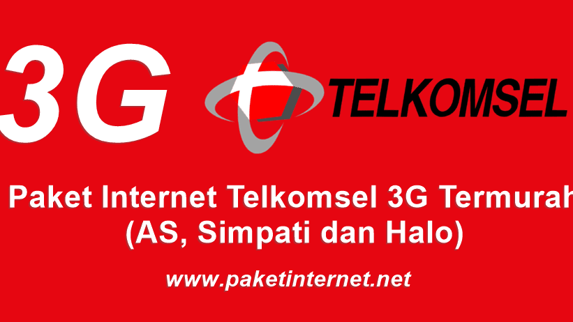 24 Paket Internet 3g Telkomsel Murah Kuota Besar As Simpati Dan Halo Paket Internet