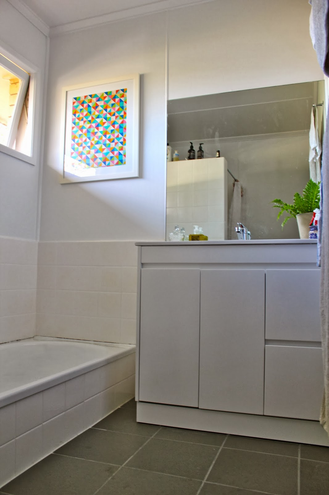 Bunnings Bathrooms Vanity Thom Haus Handmade A Simple Budget Bathroom Makeover For