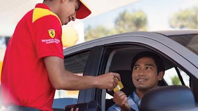 Lebih Praktis SPBU Shell Terapkan Pembayaran Visa Contactless