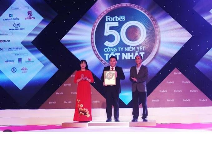 PNJ liên tiếp lọt vào Top 50 công ty niêm yết tốt nhất Việt Nam