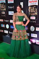 Nandita Swetha in a tight Green Choli Ghagra at IIFA Utsavam Awards March 2017 ~ 045.JPG